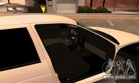 Lada Priora para GTA San Andreas vista hacia atrás