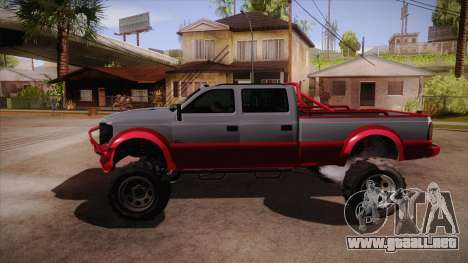 Sandking XL de GTA 5 para GTA San Andreas left