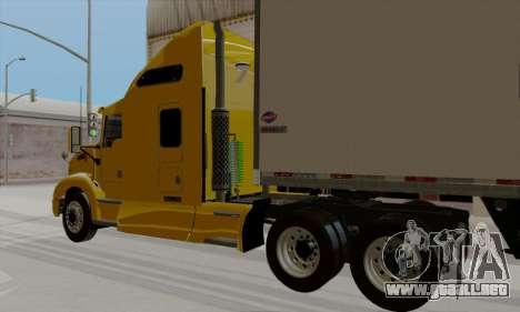 Kenworth T660 2011 para GTA San Andreas left