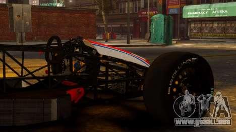 Formula Ford 1600 v1.0 para GTA 4 visión correcta