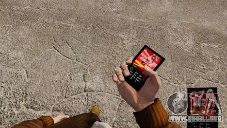 El tema para el teléfono de Coca-Cola para GTA 4