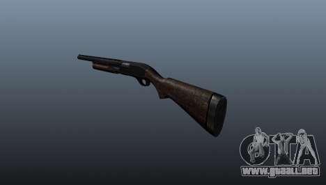Escopeta Remington 870 para GTA 4 segundos de pantalla