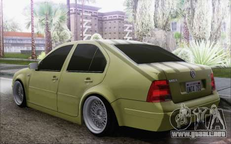 Volkswagen Bora Stance para GTA San Andreas left