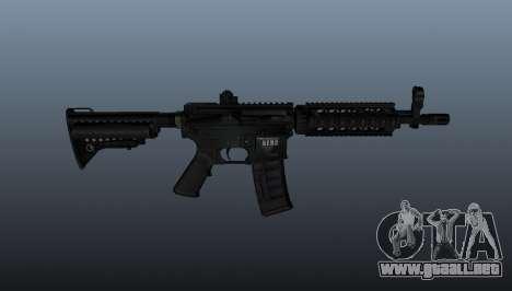 M4 Carabina EN4CR para GTA 4 tercera pantalla