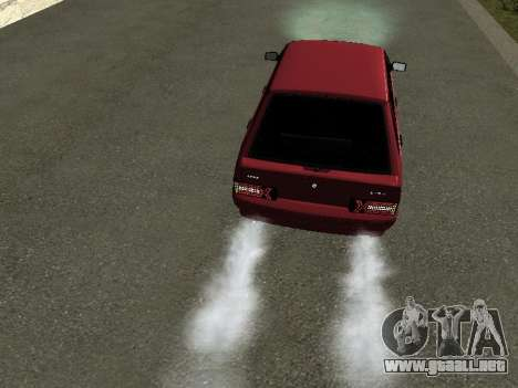 ВАЗ 2114 BPAN para GTA San Andreas vista hacia atrás