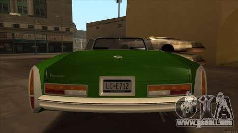 Esperanto HD from GTA 3 para la visión correcta GTA San Andreas