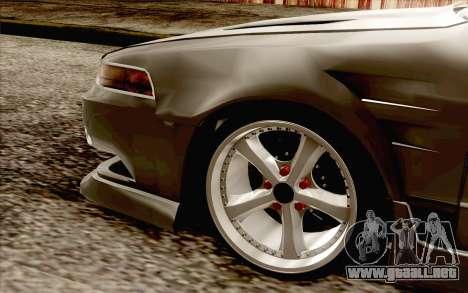 Nissan Cefiro A31 para GTA San Andreas vista posterior izquierda