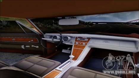 Buick Riviera 1963 para vista lateral GTA San Andreas