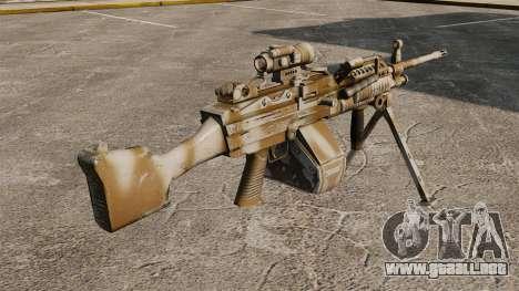 Ametralladora ligera Mk 48 para GTA 4 segundos de pantalla