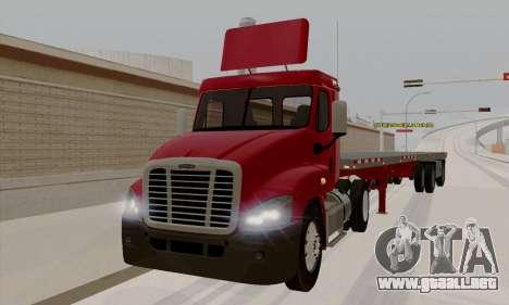 Freghtliner Cascadia Daycab 6x2 para GTA San Andreas