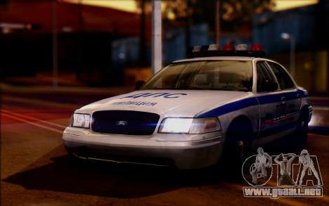 Ford Crown Victoria STR para GTA San Andreas