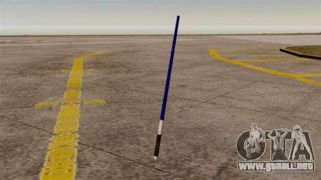 Espada láser azul de las galaxias para GTA 4