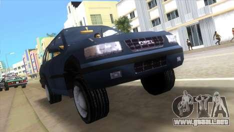 Opel Frontera para GTA Vice City left