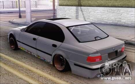 BMW M5 Street para GTA San Andreas left