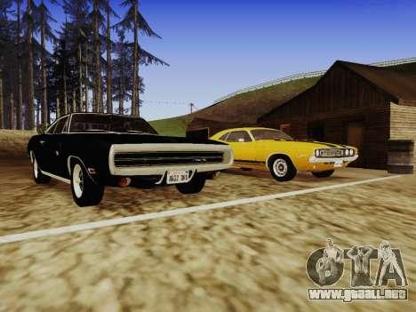SA_RaptorX v1.0 para PC débil para GTA San Andreas décimo de pantalla