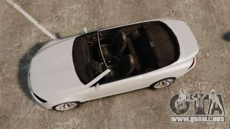 GTA V Zion XS Cabrio [Update] para GTA 4 visión correcta