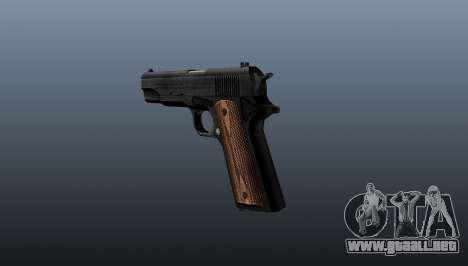 Pistola M1911 para GTA 4 segundos de pantalla