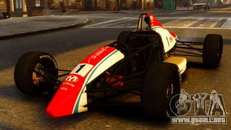Formula Ford 1600 v1.0 para GTA 4