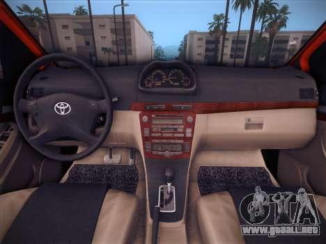 Toyota Vios Modified Indonesia para la vista superior GTA San Andreas