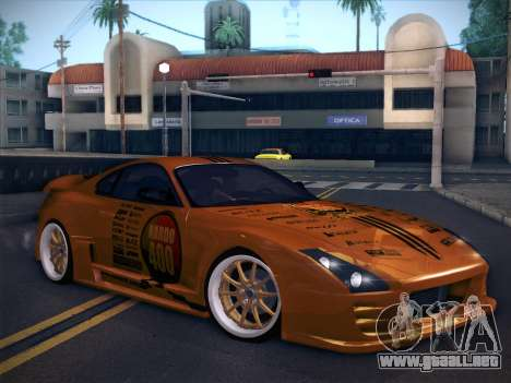 Toyota Supra Top Secret V12 para GTA San Andreas interior
