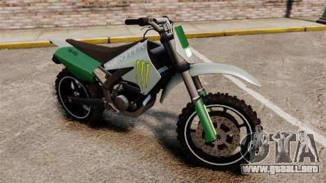 Sanchez Monster Energy para GTA 4