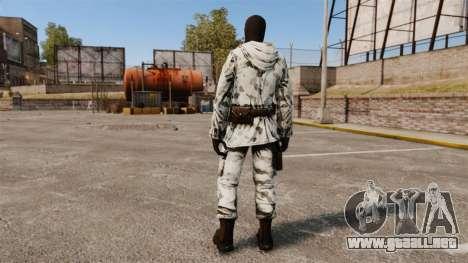Terrorista sueco Ártico para GTA 4 tercera pantalla