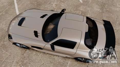 Mercedes-Benz SLS AMG Black Series 2014 para GTA 4 visión correcta