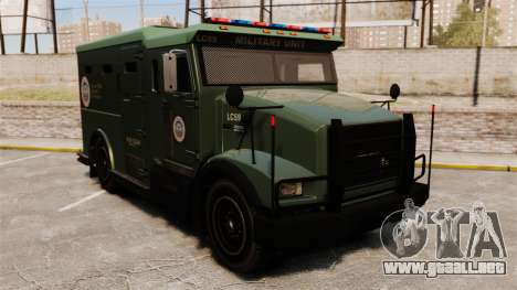 Military Enforcer para GTA 4