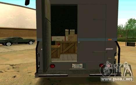 Boxville de GTA 4 para GTA San Andreas left