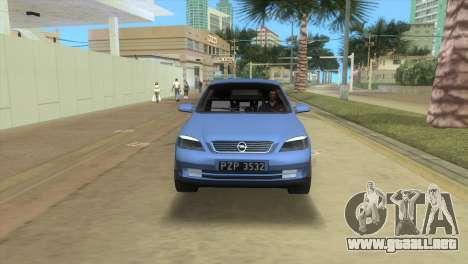 Opel Astra 4door 1.6 TDi Sedan para GTA Vice City vista lateral izquierdo
