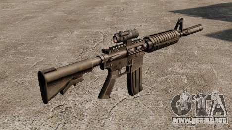 Carabina M4 auto-15 para GTA 4 segundos de pantalla