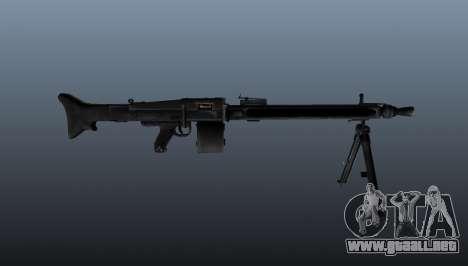 Ametralladora de propósito general MG-3 para GTA 4 tercera pantalla