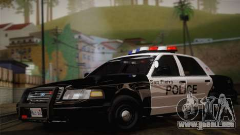 Ford Crown Victoria 2005 Police para GTA San Andreas