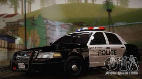 Ford Crown Victoria 2005 Police para GTA San Andreas