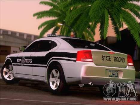 Dodge Charger San Andreas State Trooper para la visión correcta GTA San Andreas