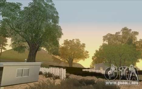 Behind Space Of Realities - Cursed Memories para GTA San Andreas sexta pantalla