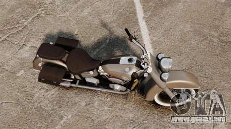 Custom Bobber v2 para GTA 4 Vista posterior izquierda
