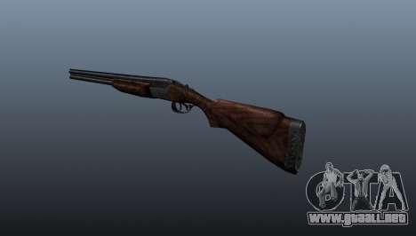 Escopeta doble-barreled ТОЗ-34 para GTA 4 segundos de pantalla