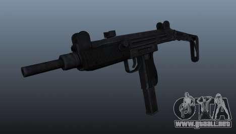 IMI Uzi subfusil ametrallador para GTA 4