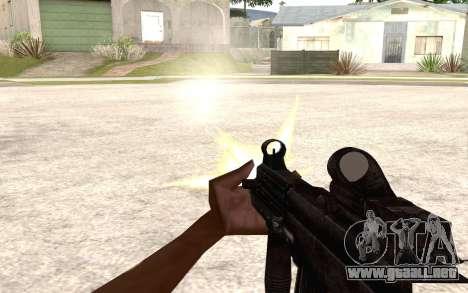 UMP 45 para GTA San Andreas sucesivamente de pantalla