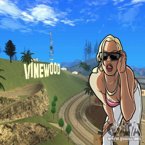 New HD Loadscreen para GTA San Andreas segunda pantalla