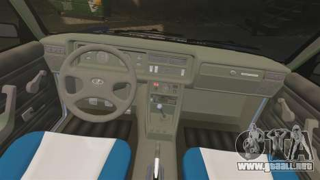 LADA 2107 Time Attack Racer para GTA 4 vista lateral