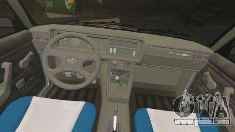 LADA 2107 Time Attack Racer para GTA 4 vista lateral