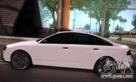 GTA V Tailgater para visión interna GTA San Andreas