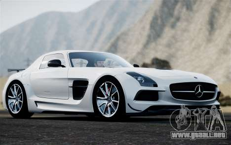 Mercedes-Benz SLS AMG Black Series 2014 para GTA 4