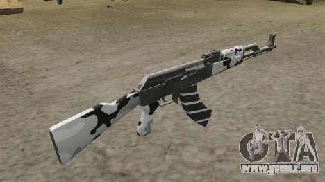 Invierno de AK-47 para GTA 4 segundos de pantalla
