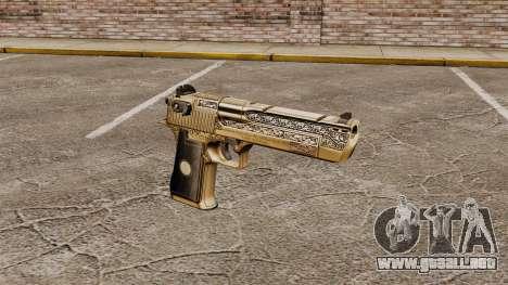 Pistola de lujo Desert Eagle para GTA 4