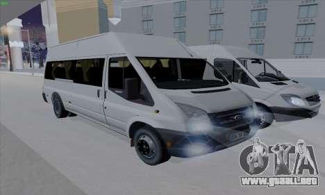 Ford Transit Jumgo para GTA San Andreas