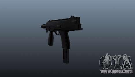 Pistola automática TMP para GTA 4 segundos de pantalla