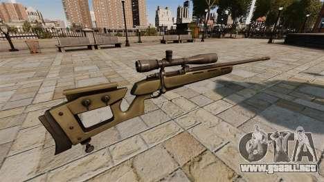 GOL francotirador Magnum sniper rifle v2 para GTA 4 segundos de pantalla